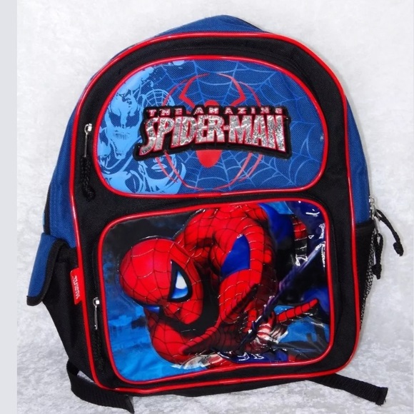 Accessories   Spiderman Backpack Kids Daycare Outing Bag   Poshmark 32d351b1ac